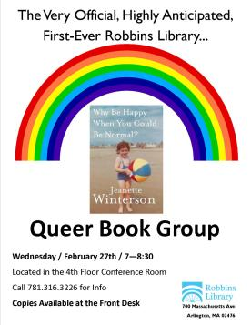 Queer Book Group_Why be happy when you