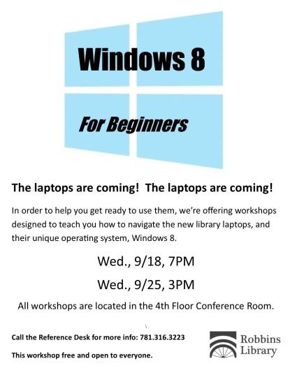 windows 8 workshop