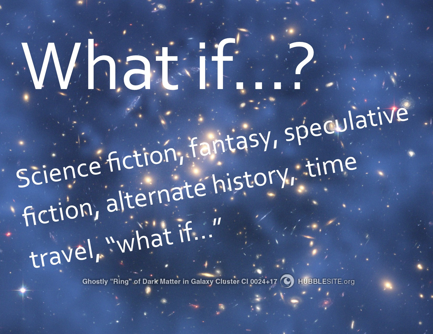 Explore new worlds with Science Fiction and Fantasy