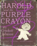 Harold and the Purple Crayon, one of Ellen's favorites.