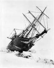 The Endurance -Shackleton's historic icebound Antarctic  ship