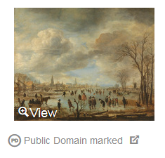 """Public Domain marked"" means this image is in the public domain, to the best of Europeana's knowledge."