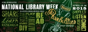 ALA National Library Week 2015 logo banner