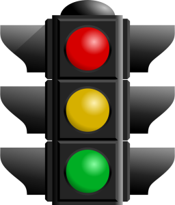 OpenClipart image of a traffic light