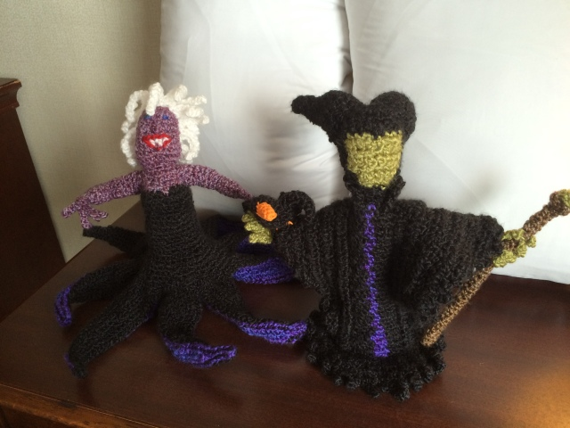 Ursula and Maleficent