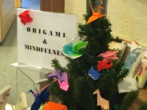 the mindfulness origami project at robbins create your