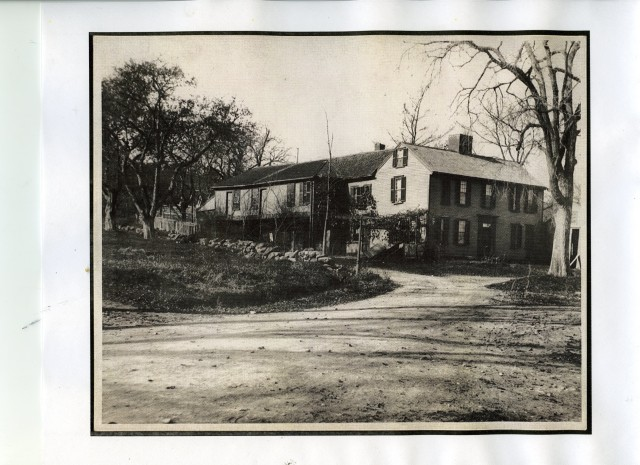 historic photo of the Fowle-Reed-Wyman-Belcher House