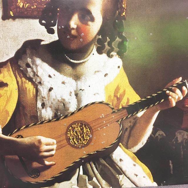 Jan Vermeer painting 1672