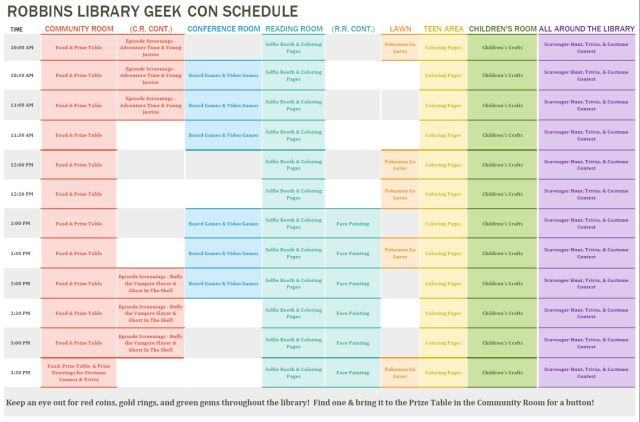 GeekConSchedule