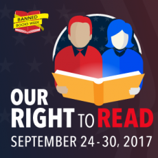 ALA graphic Our Right to Read Banned Books Week