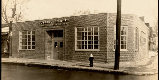 East Branch Exterior 1952