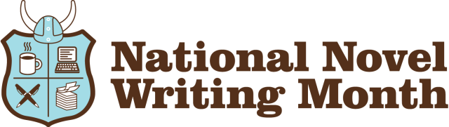 National Novel Writing Month shield logo