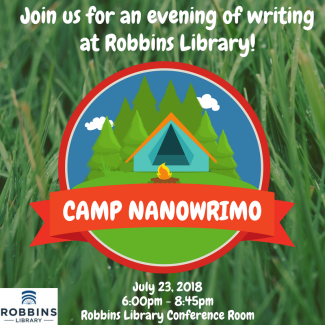 CAMP NANOWRIMO social media