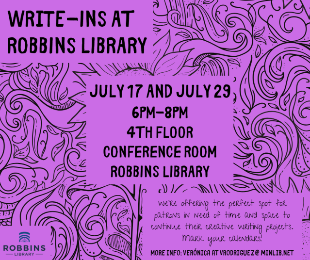Copy of Robbins Write-Ins